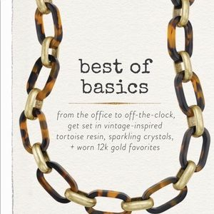 Jewelry - Heirloom Tortoise Link Necklace
